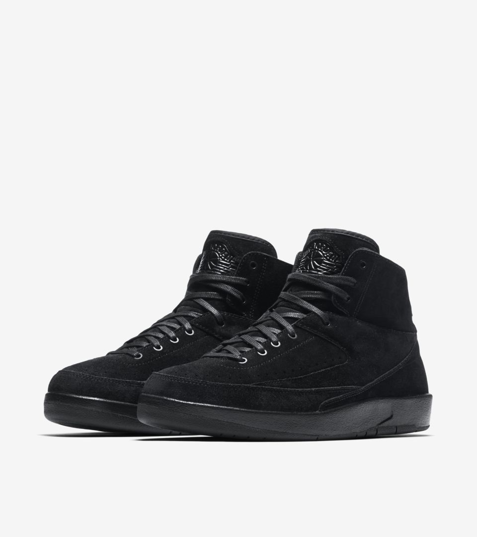 e0889403c3bd Air Jordan 2 Retro Decon  Triple Black  Release Date. Nike⁠+ SNKRS
