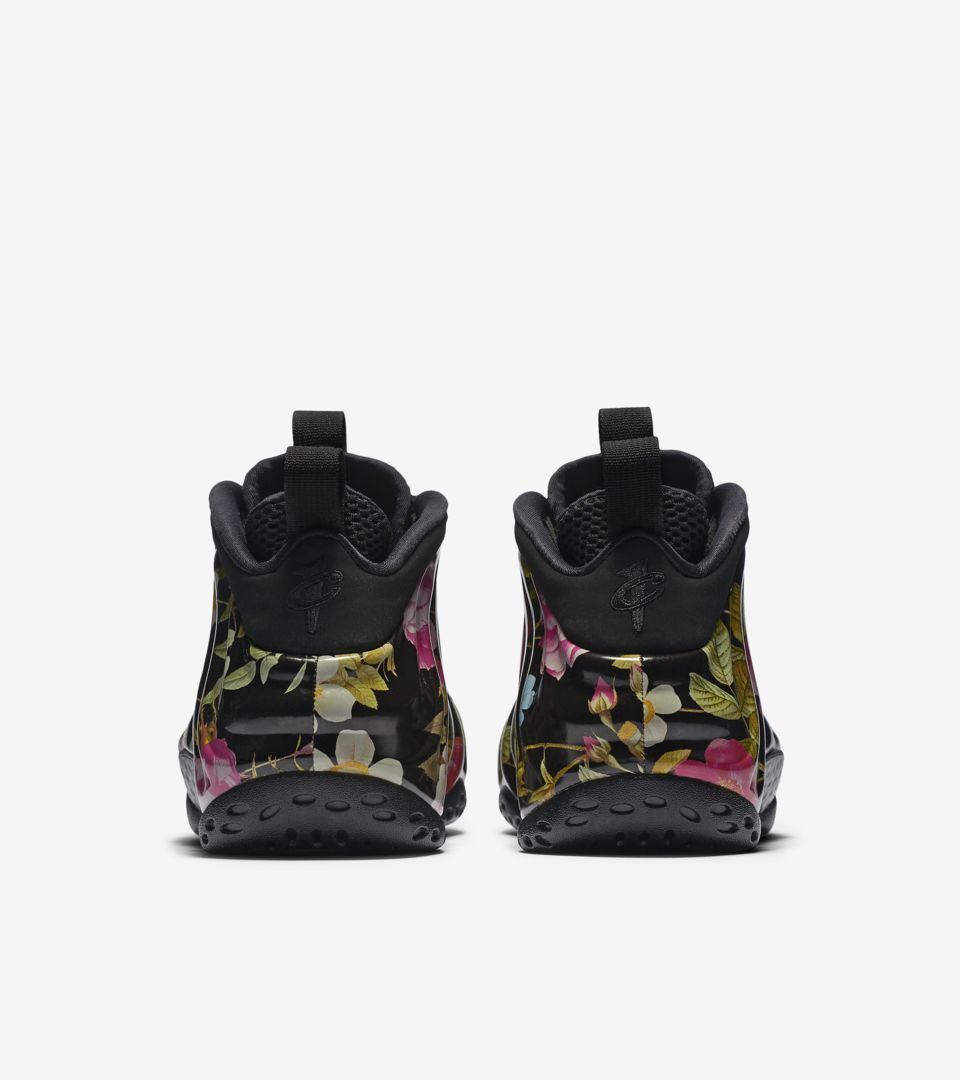 508bbb536bd Nike Air Foamposite One Floral  Black  Release Date. Nike+ SNKRS