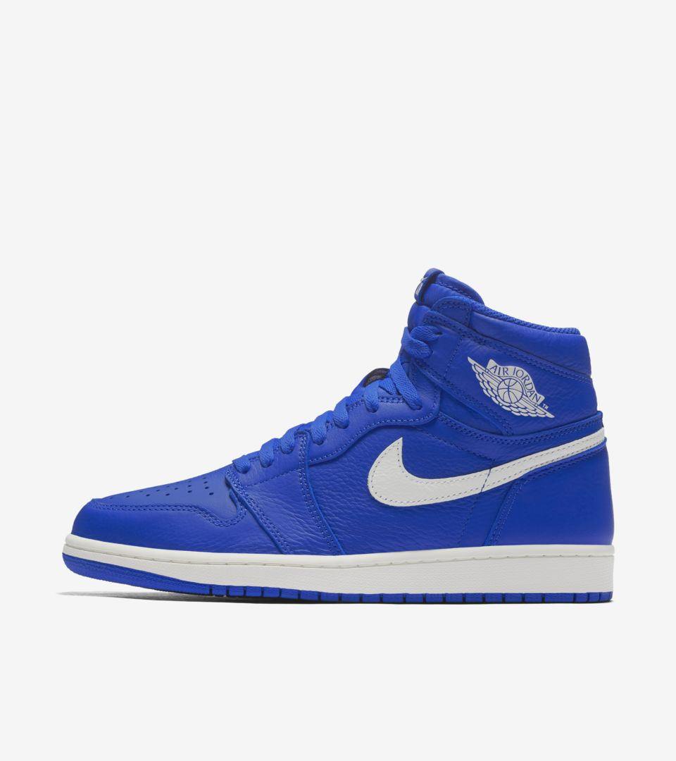 Air Jordan 1 Retro High OG 'Hyper Royal & White' Release Date
