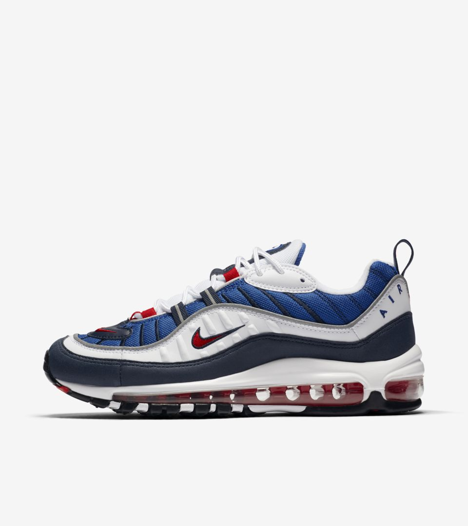 7c971a4a068a4c Nike Women s Air Max 98  University Red   Obsidian  Release Date ...