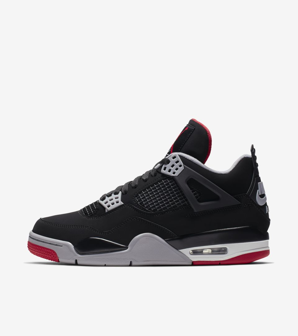 huge discount b6792 ac5e9 Air Jordan IV. Bred