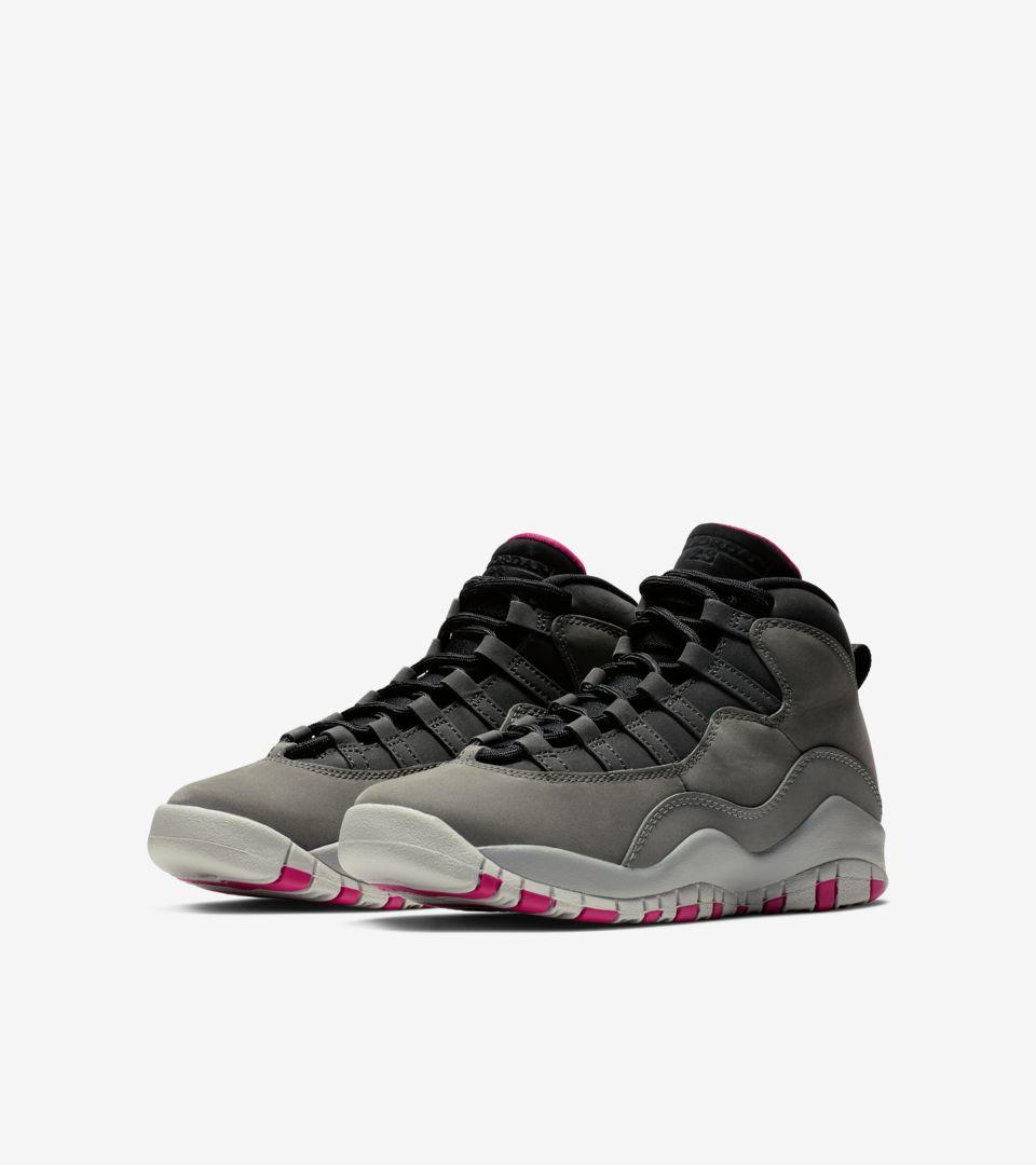 195cde02981196 Air Jordan 10 GG  Dark Shadow Grey  Release Date. Nike+ SNKRS