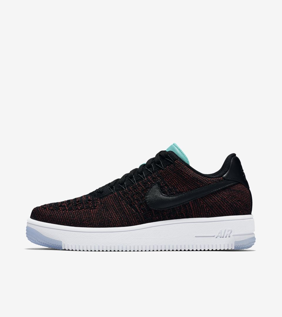 Women's Nike Air Force 1 Ultra Flyknit Low 'Team Red & Clear