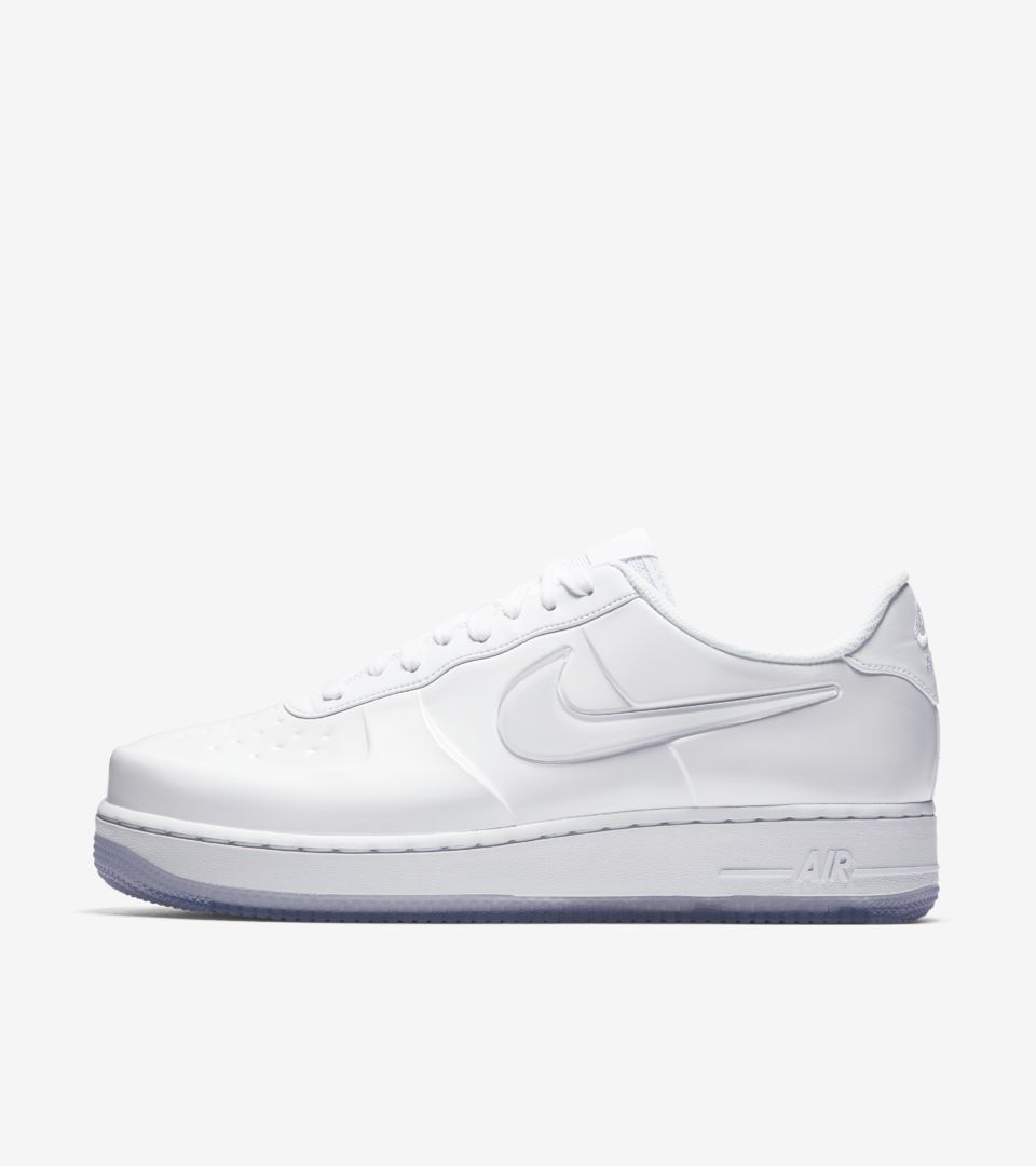 the best attitude bb152 c66fa Nike Air Force 1 Foamposite Pro Cup 'Triple White' Release ...