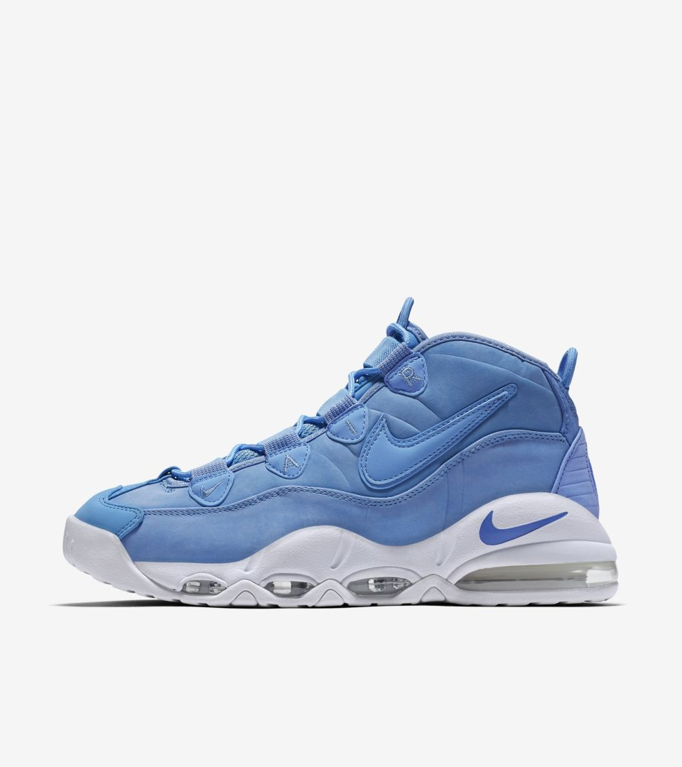 6fc8674aac Nike Air Max Uptempo 95 'University Blue'. Nike⁠+ SNKRS