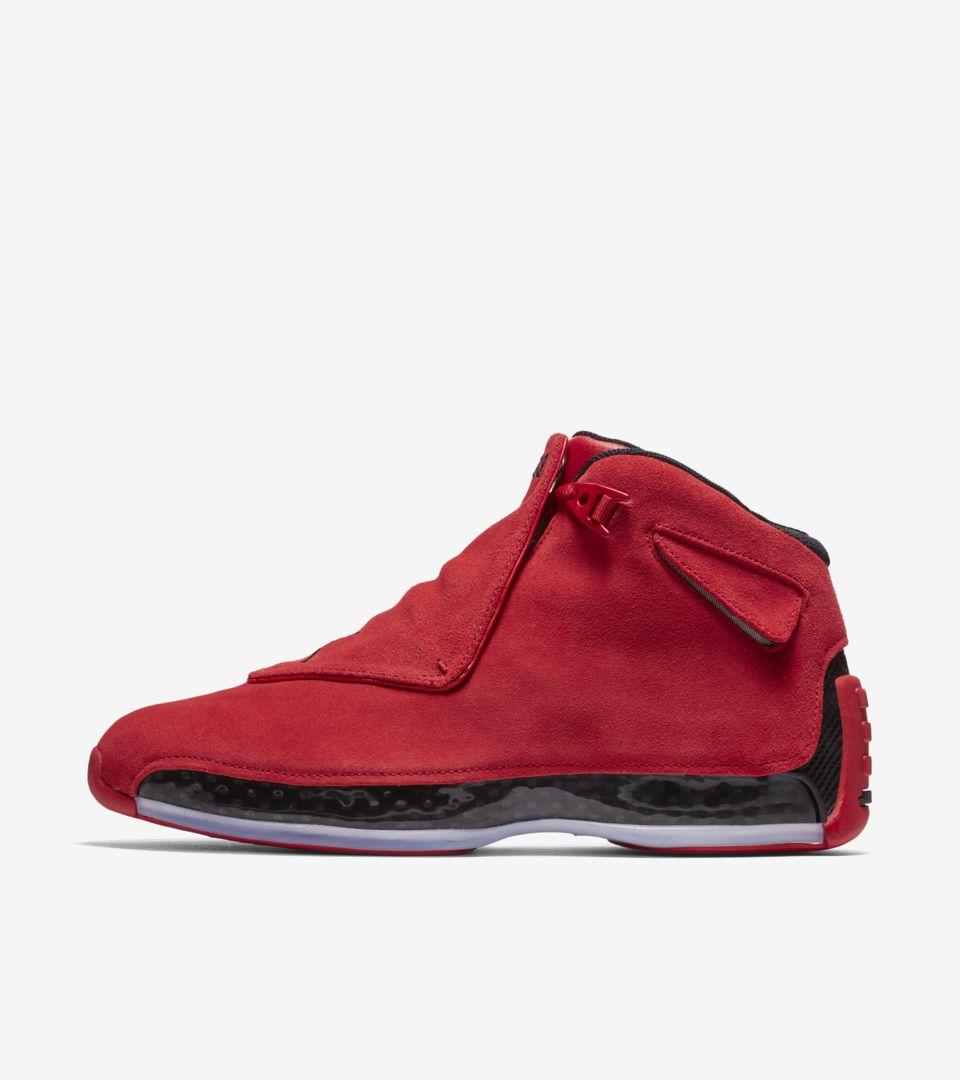f932700164f Air Jordan 18 'Gym Red & Black' Release Date. Nike⁠+ SNKRS
