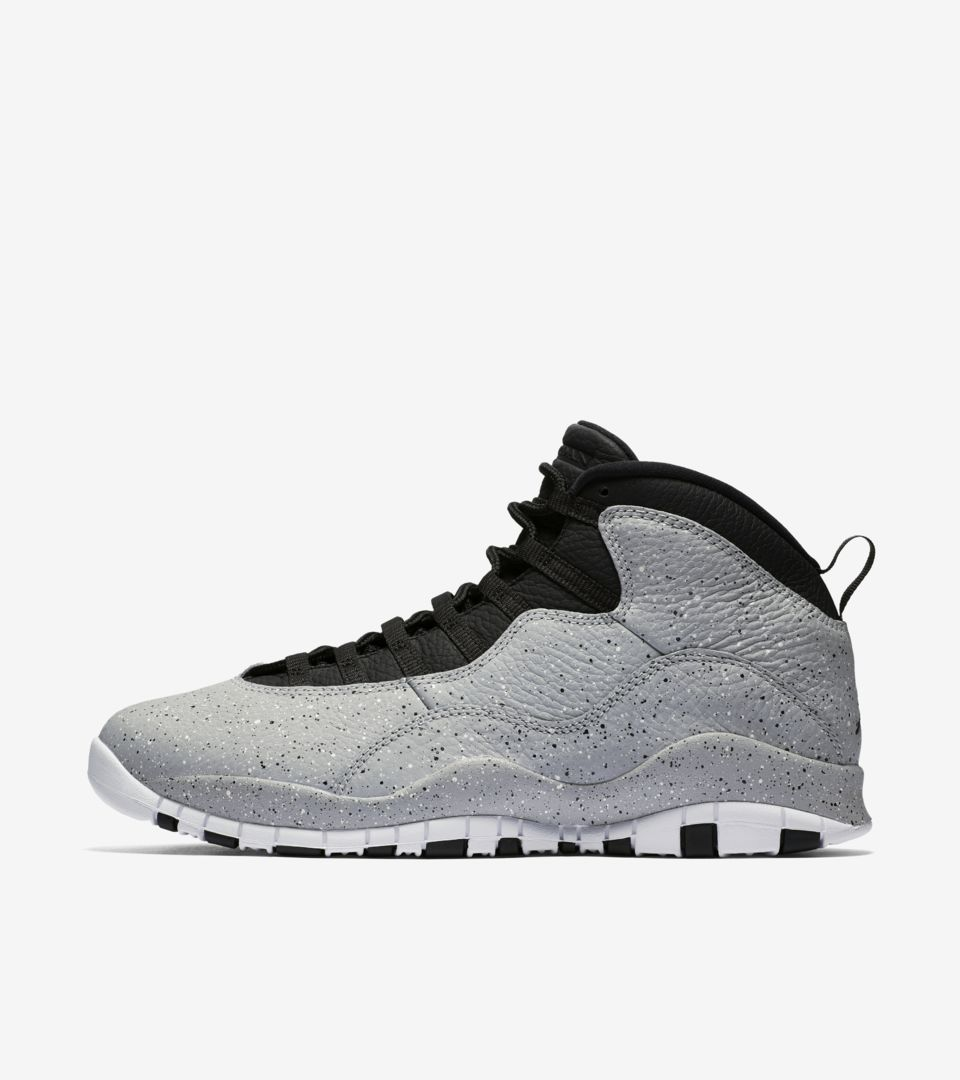 best service ea35d aac51 Air Jordan 10 'Light Smoke Grey' Release Date. Nike+ SNKRS