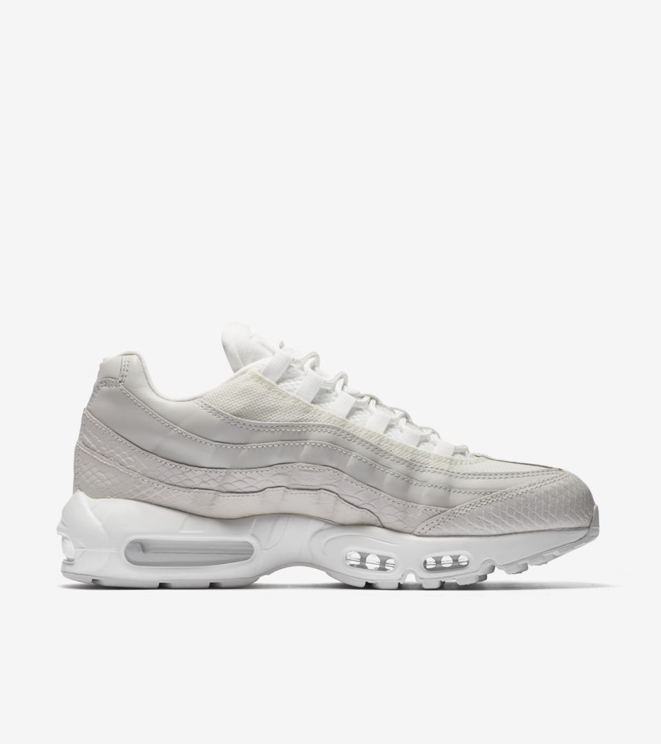 half off 88b65 6fda6 ... discount code for nike air max 95 premium summit white release date.  nikeu2060 snkrs 78a47 ...