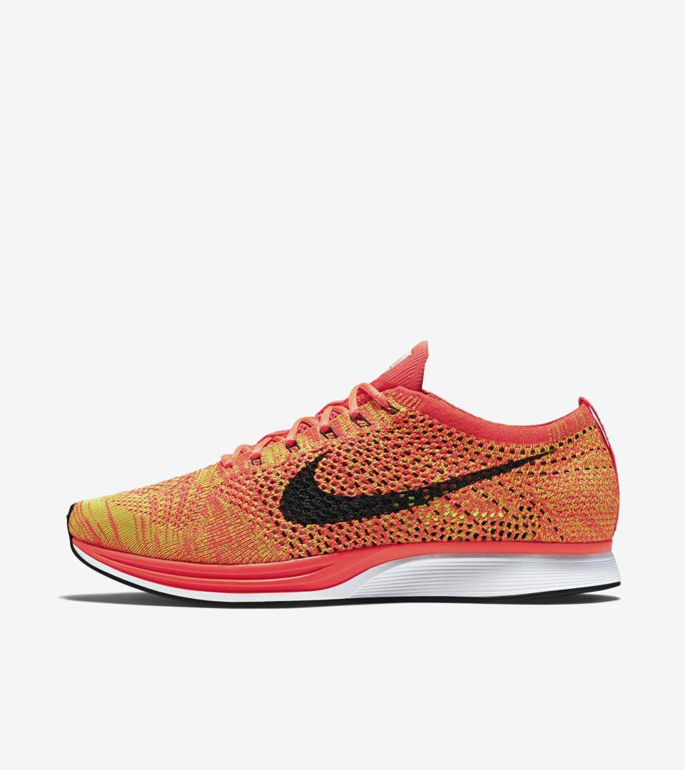 Nike Flyknit Racer 'Orange Slice