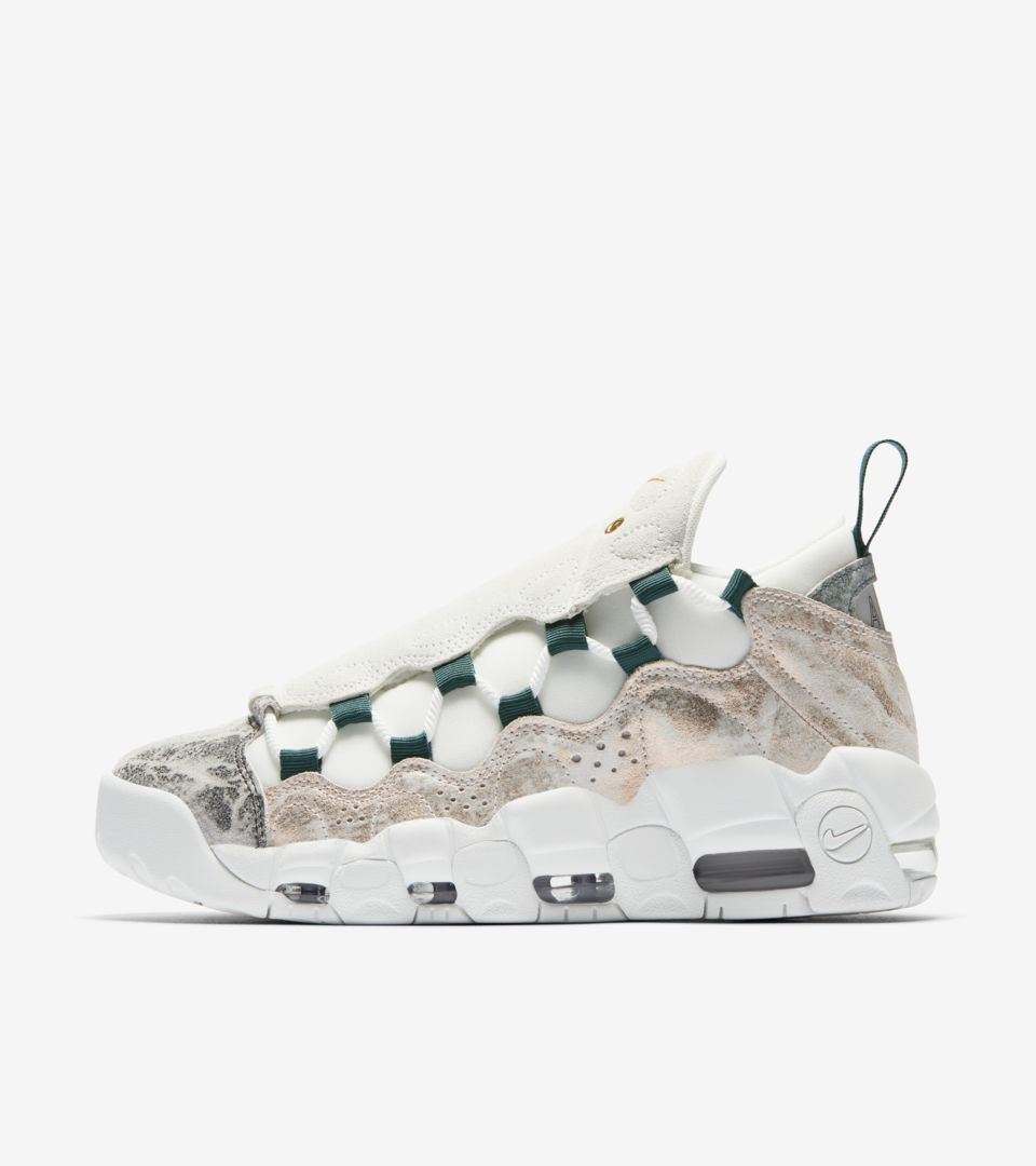 Women's Nike Air More Money 'Summit White and Oil Grey' Release ...