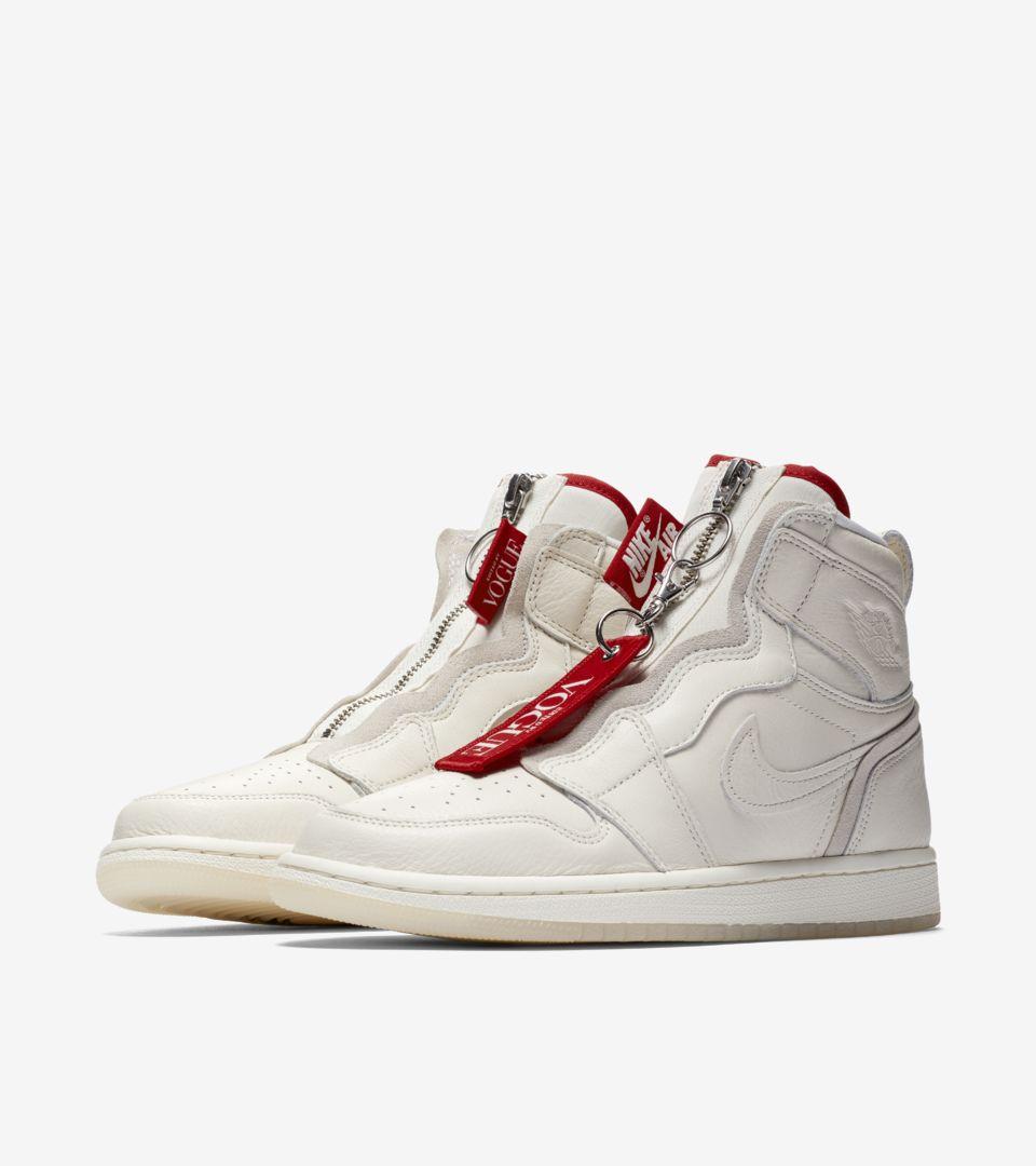Women s Air Jordan I High Zip AWOK  Sail  Release Date. Nike+ SNKRS 950cbfaada91