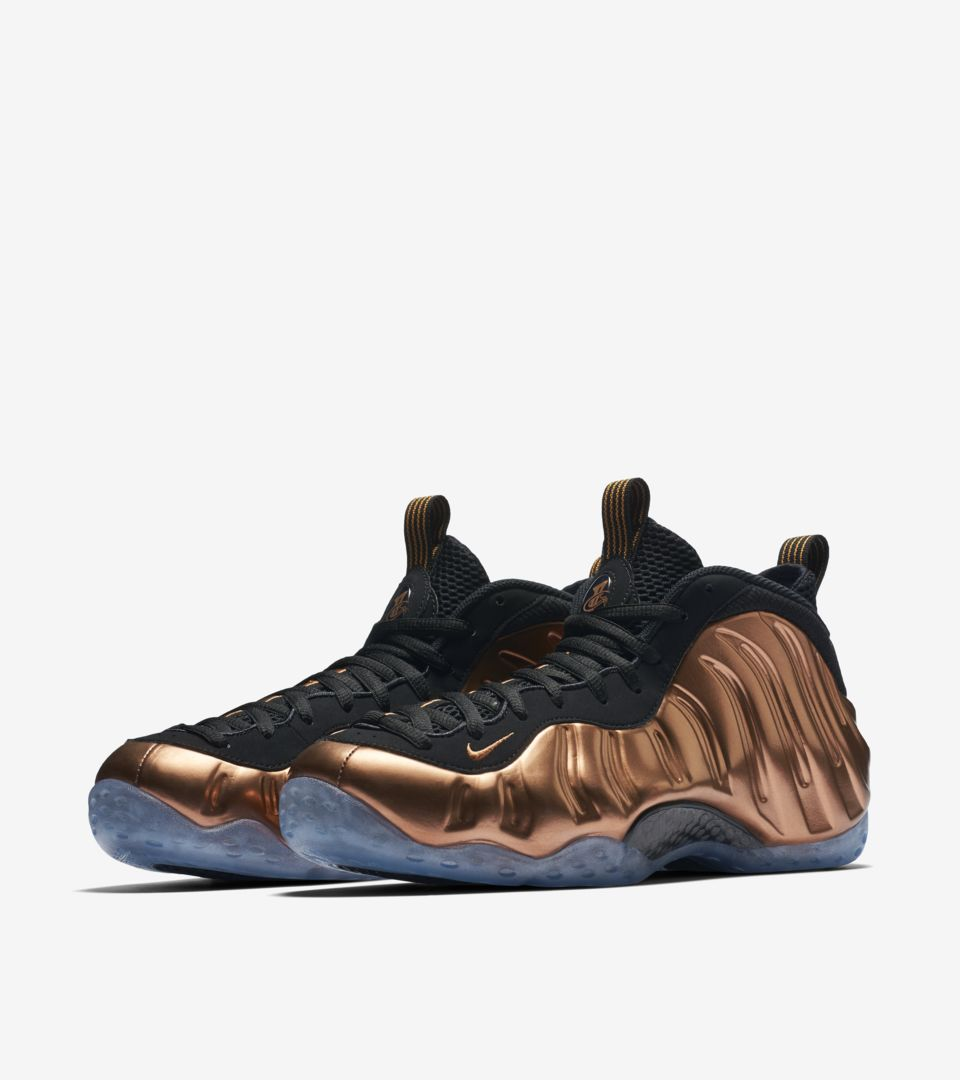 premium selection 83500 f5ef3 Nike Air Foamposite One 'Metallic Copper'. Nike⁠+ SNKRS