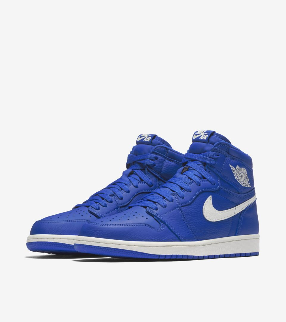 55190f1c84d9ea Air Jordan 1 Retro High OG  Hyper Royal   White  Release Date. Nike ...