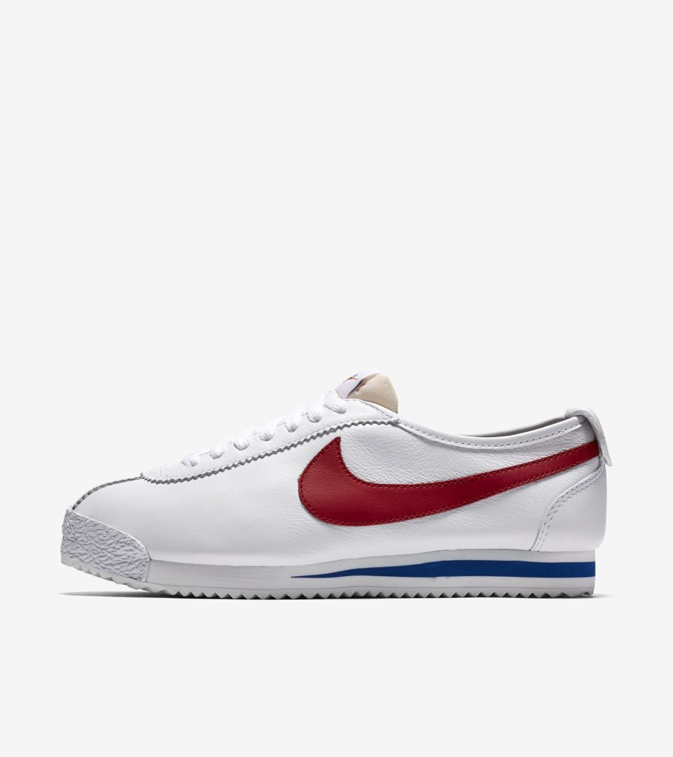new product e7c5e d8e72 Women's Nike Cortez 72 'White & University Red'. Nike⁠+ SNKRS