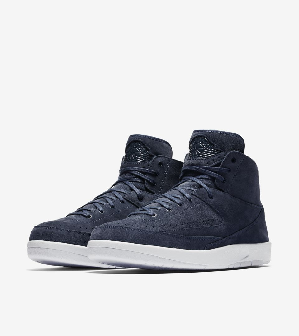 new concept 2bfef 361e8 Air Jordan 2 Retro Decon 'Thunder Blue' Release Date. Nike⁠+ ...