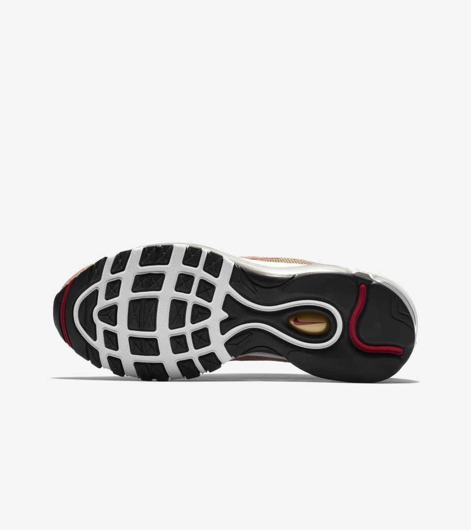 Women s Nike Air Max 97  Gold Swarovski Crystal  Release Date. Nike ... 4bdd354a8b