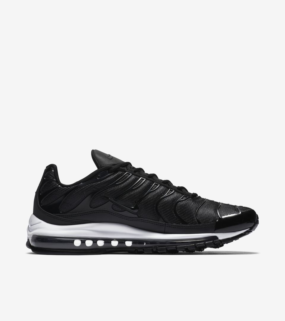 meet a267b 4f4f5 Nike Air Max 97 Plus 'Black & White' Release Date. Nike⁠+ Launch GB