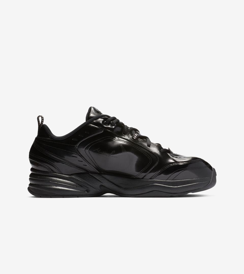 Nike Air Monarch 4 Martine Rose 'Black' Release Date