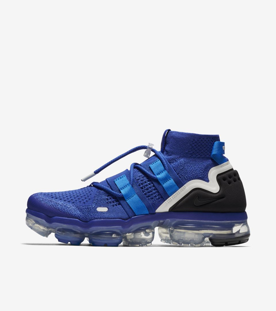 ed32e2464b490 Nike Air Vapormax Utility  Game Royal   Black  Release Date. Nike⁠+ ...
