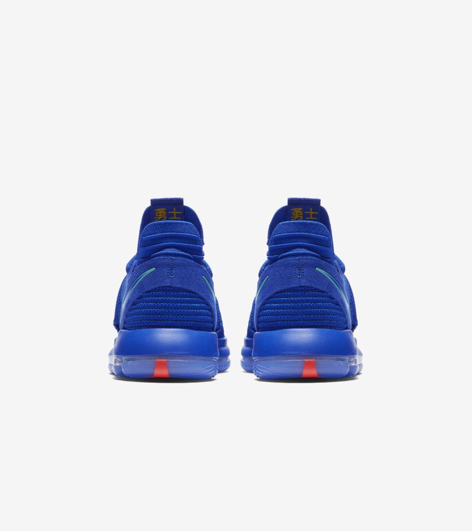 5e1bcb2b78b Nike Zoom KD10  Racer Blue   Light Menta  Release Date. Nike+ SNKRS