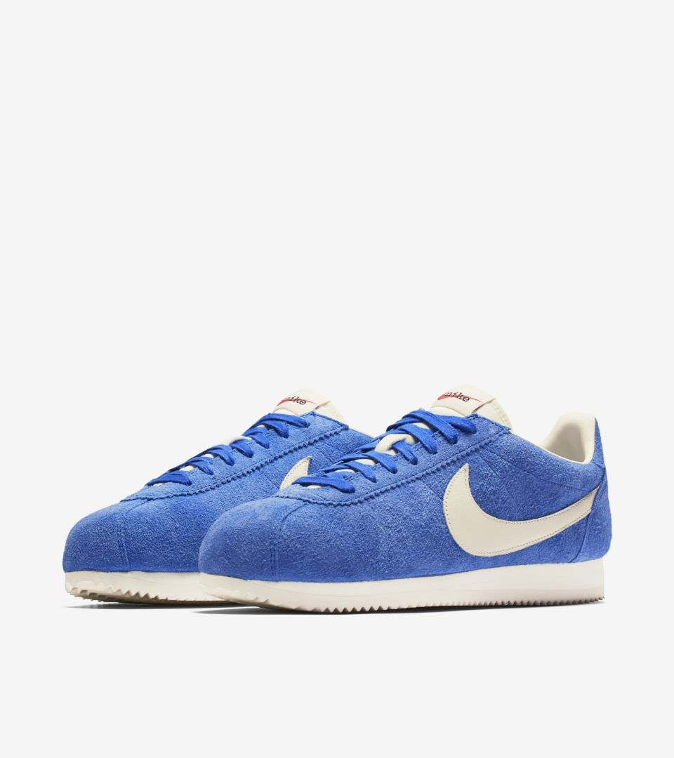 reputable site db199 f0c42 Nike Classic Cortez Kenny Moore 'Varsity Royal & Sail' Release ...