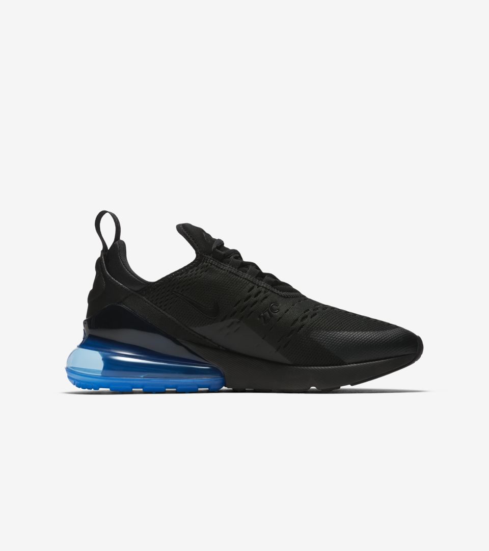 836ad98c80 Nike Air Max 270 'Black & Photo Blue' Release Date. Nike+ SNKRS