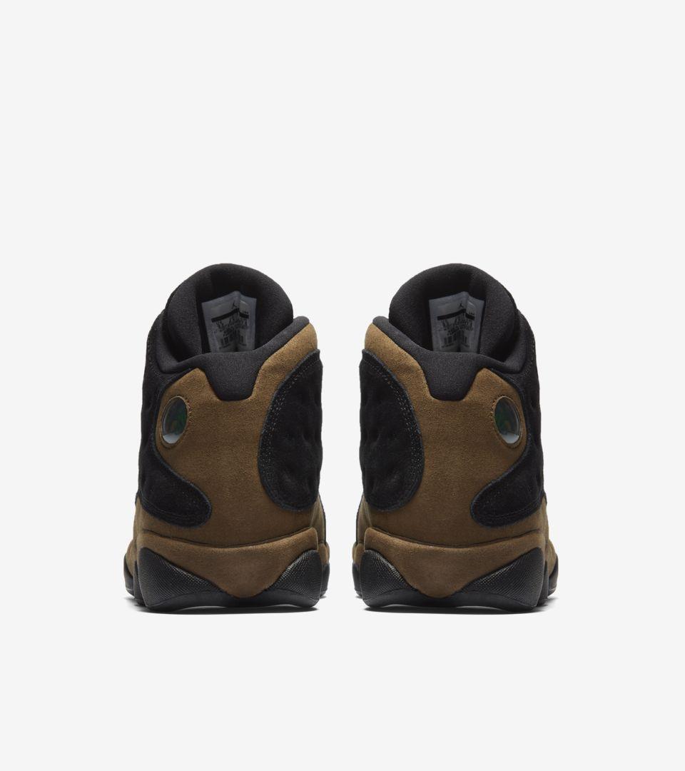 timeless design 1c657 0475d Air Jordan 13 'Black & Olive' Release Date. Nike+ SNKRS