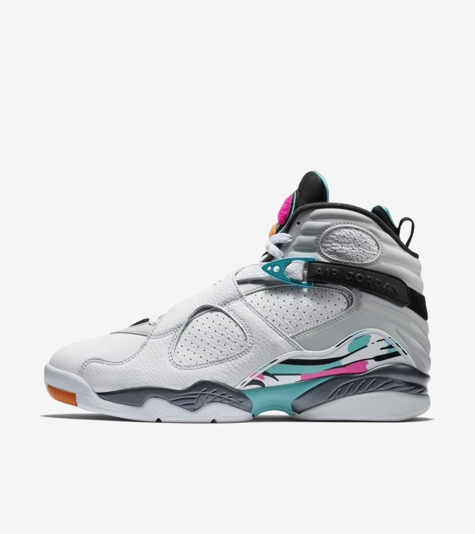 Air Jordan 8 Retro 'White & Turbo Green' Release Date