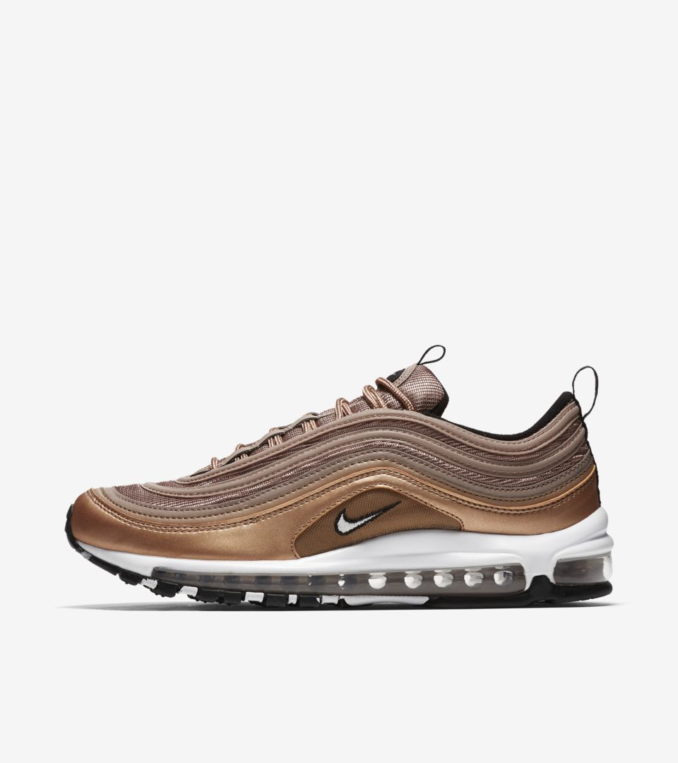 the latest 4af5f 011ef Nike Air Max 97 'Desert Dust & Metallic Red Bronze ...