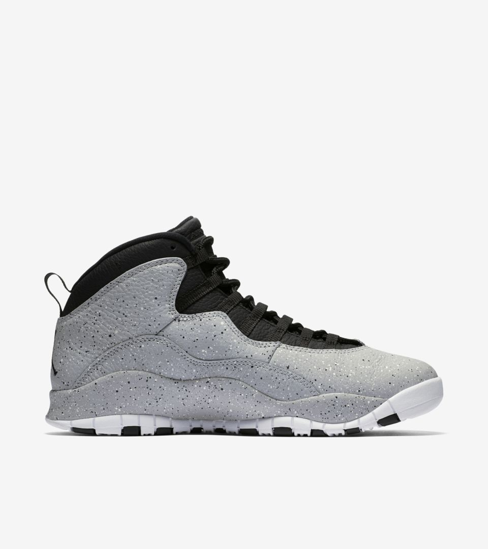 best service 48e80 47b96 Air Jordan 10 'Light Smoke Grey' Release Date. Nike+ SNKRS