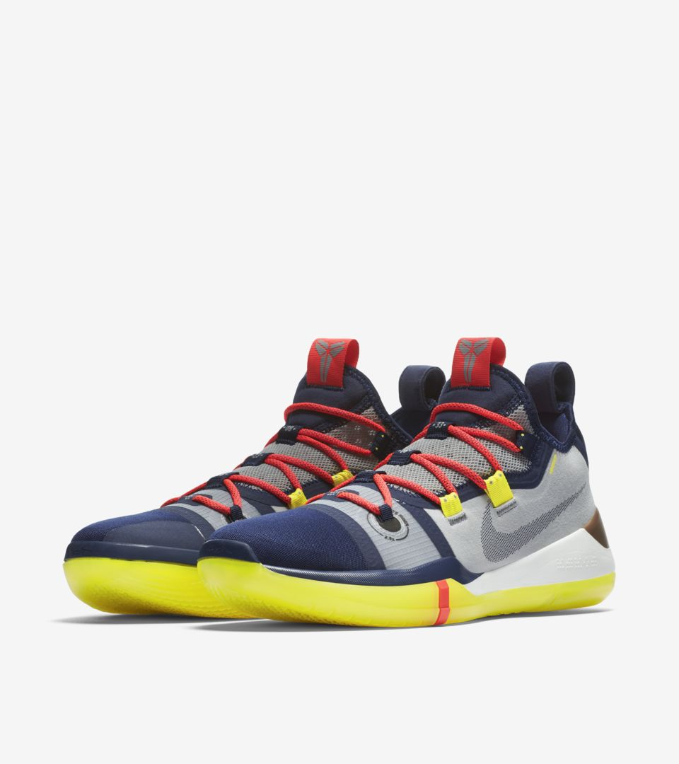 official photos 25504 38864 Nike Kobe A.D. 'Sail & Multi-Color' Release Date. Nike+ SNKRS