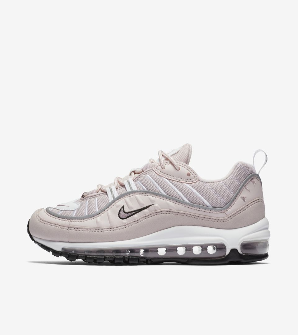 chaussures de sport 073ba 38b71 Nike Women's Air Max 98 'Barely Rose & Reflect Silver ...