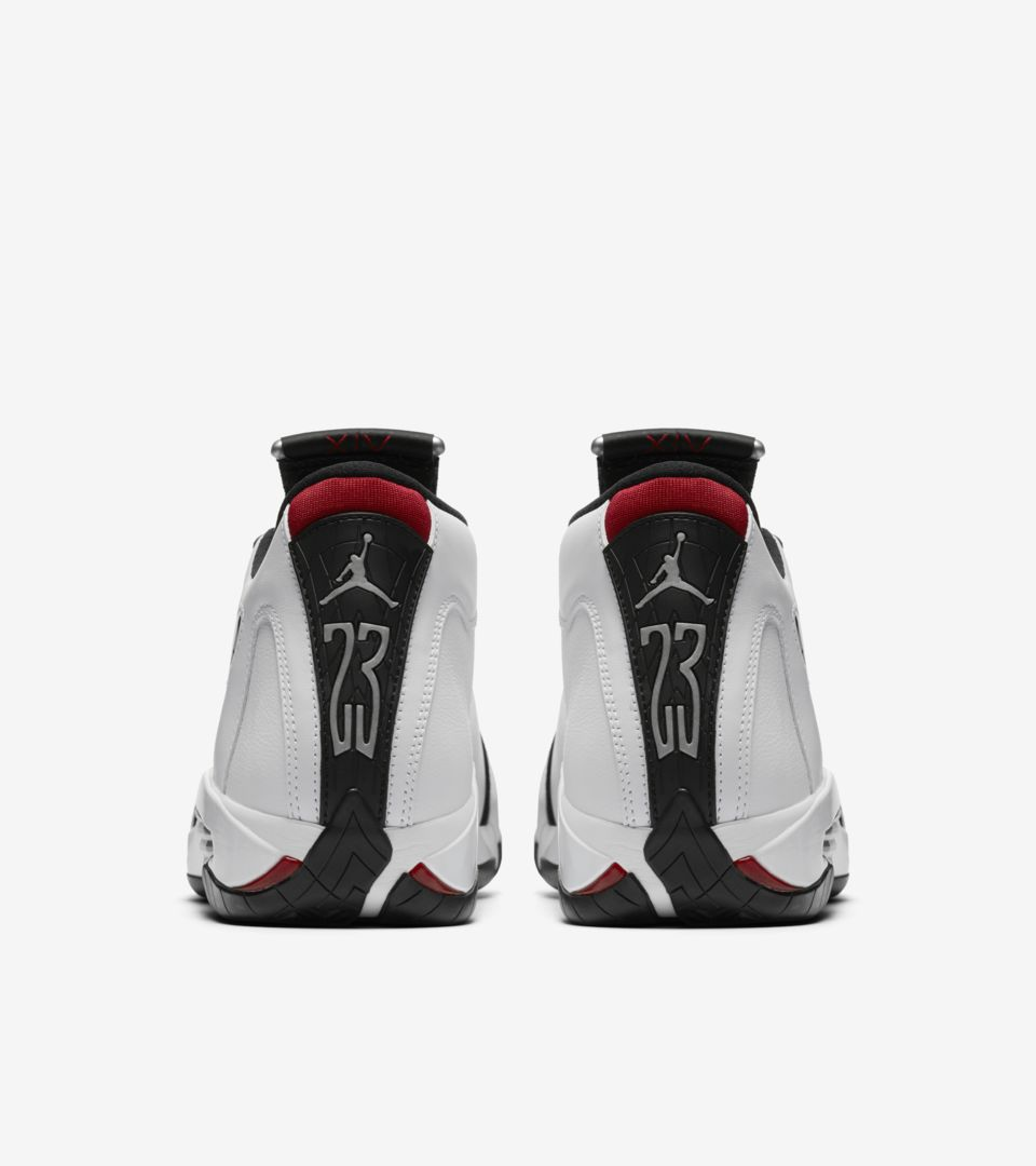 buy online ff80f fda4d Air Jordan 14 Retro 'Black Toe'. Nike⁠+ SNKRS
