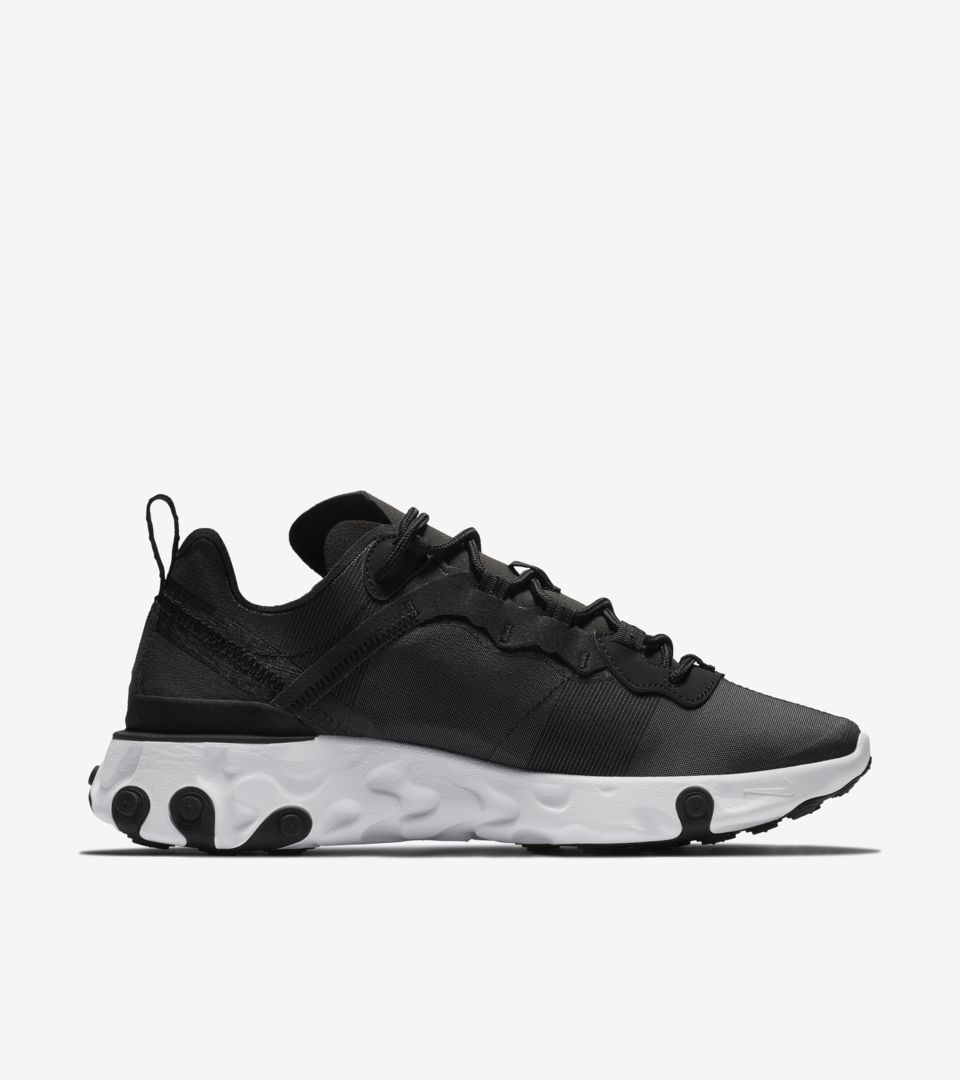 Nike Women's React Element 55 'Black & White' Release Date