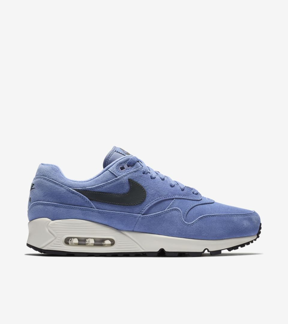 new product 12809 a94f2 ... Nike Air Max 90 1  Purple Basalt   Anthracite   White  ...