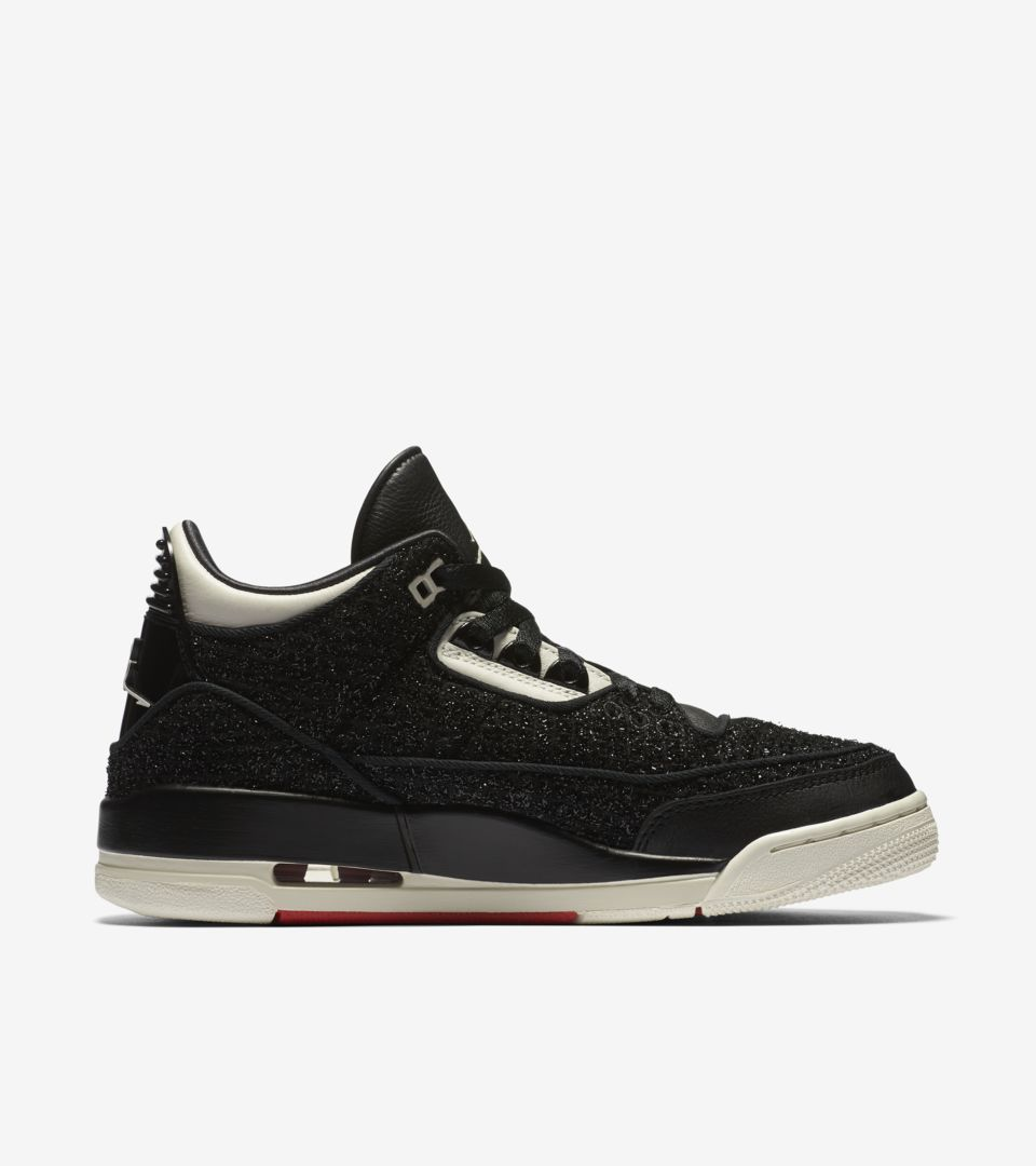 the latest ebbac d283b Women s Air Jordan 3 AWOK  Black   Sail  ...