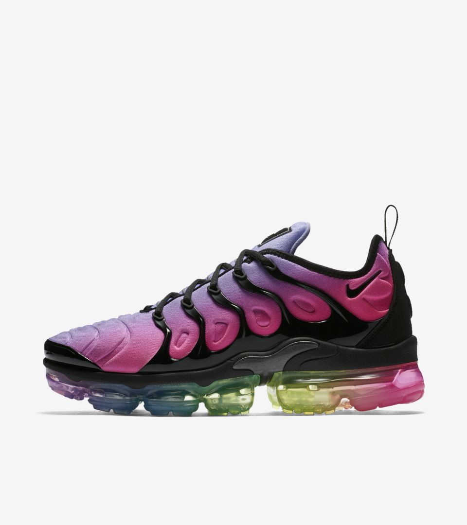 new arrival 832f9 c590c Nike Air Vapormax Plus Betrue 'Black & Multicolor' Release ...
