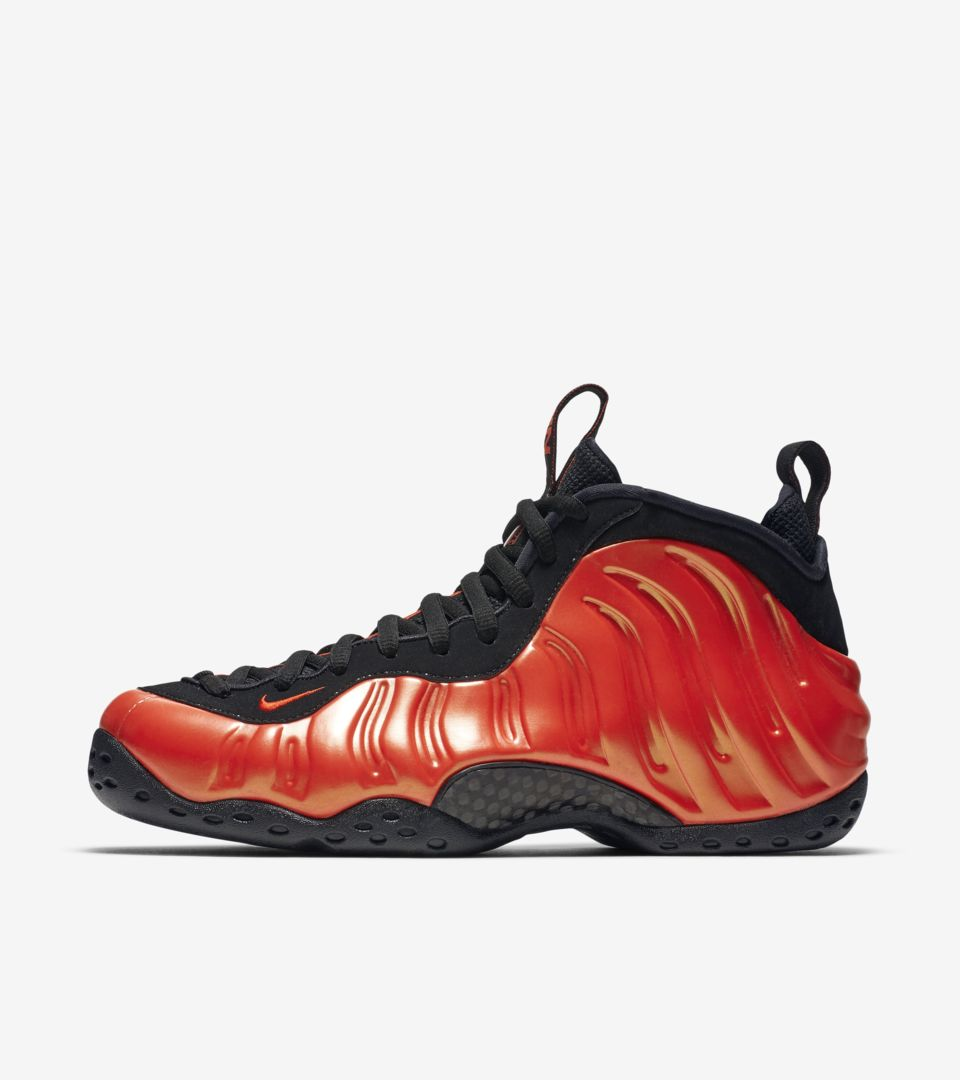 best website ecc26 c3402 Air Foamposite One 'Habanero Red' Release Date. Nike⁠+ SNKRS