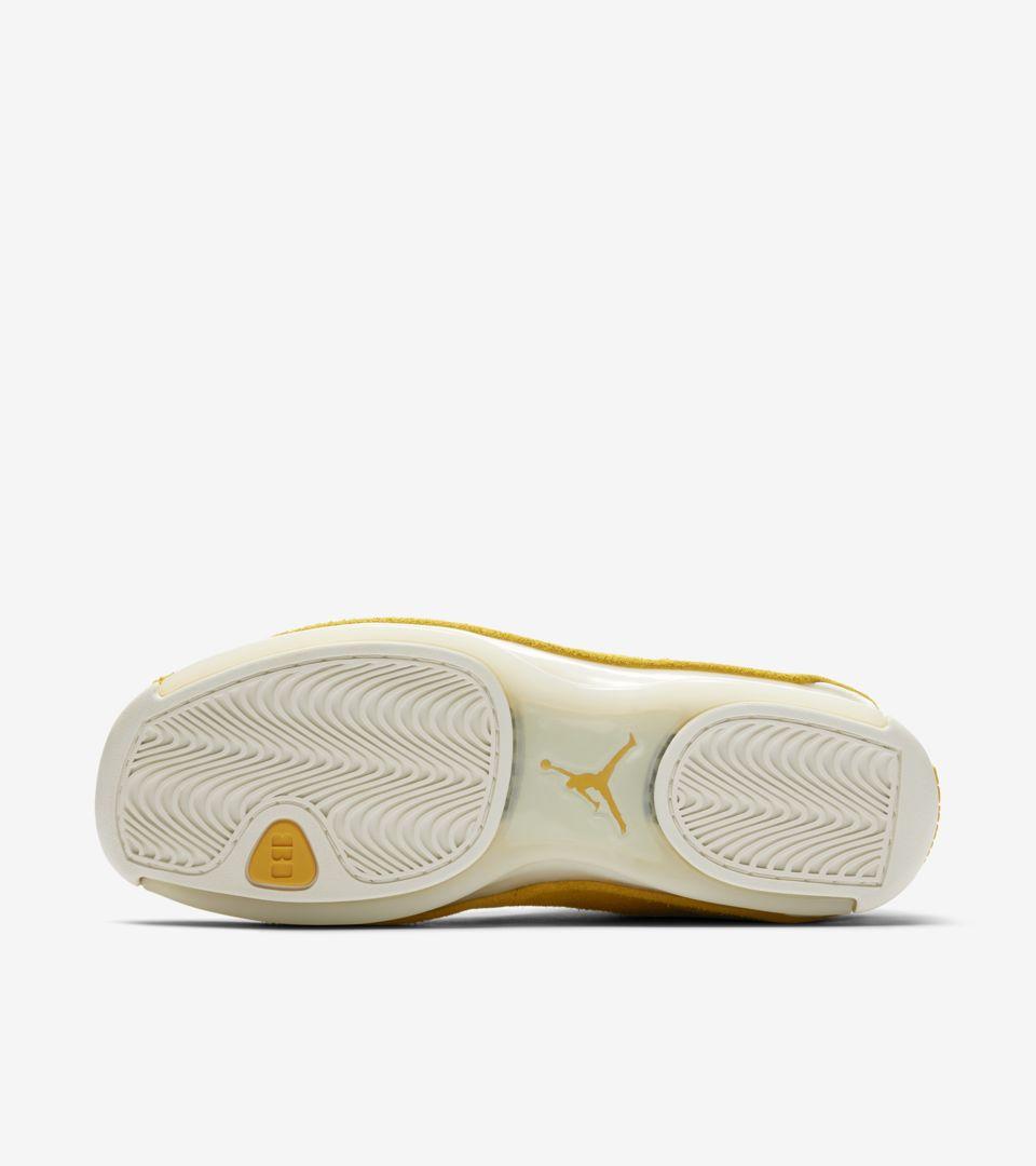 Air Jordan 18 'Yellow Ochre & Sail' Release Date