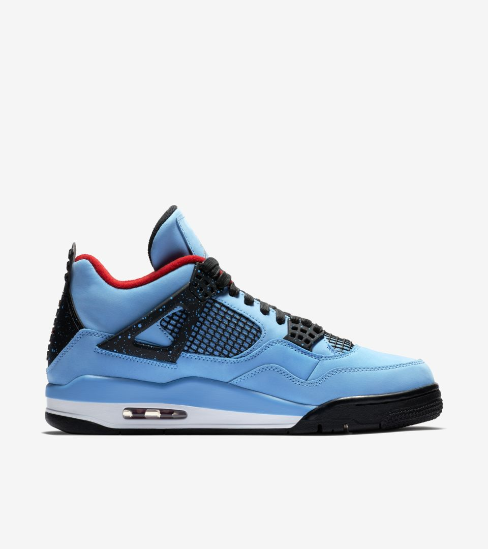 buy popular 15fb3 c1aad Air Jordan 4 Travis Scott 'Cactus Jack' Release Date. Nike⁠+ ...