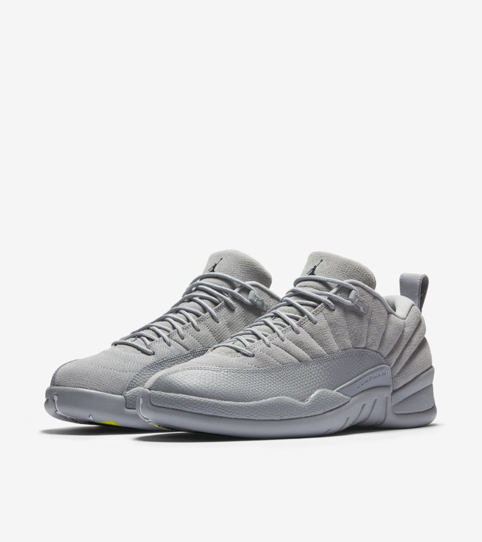 new products d6160 cd1dc WOLF GREY.  170. AIR JORDAN XII LOW ...