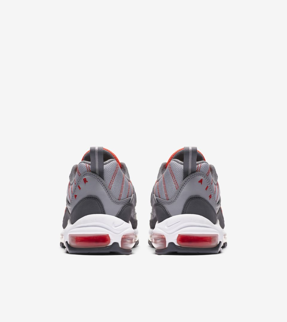 1781dd1bc777 Nike Air Max 98  Wolf Grey  amp  Total Crimson  Release Date. Nike⁠+ ...