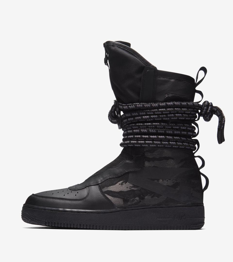 huge discount 5a730 8f794 Nike SF AF1 Hi 'Black & Dark Grey' Release Date. Nike+ SNKRS