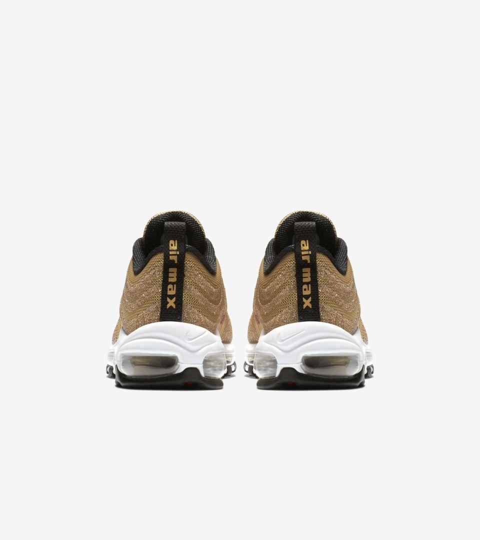Women's Nike Air Max 97 'Gold Swarovski Crystal' Release