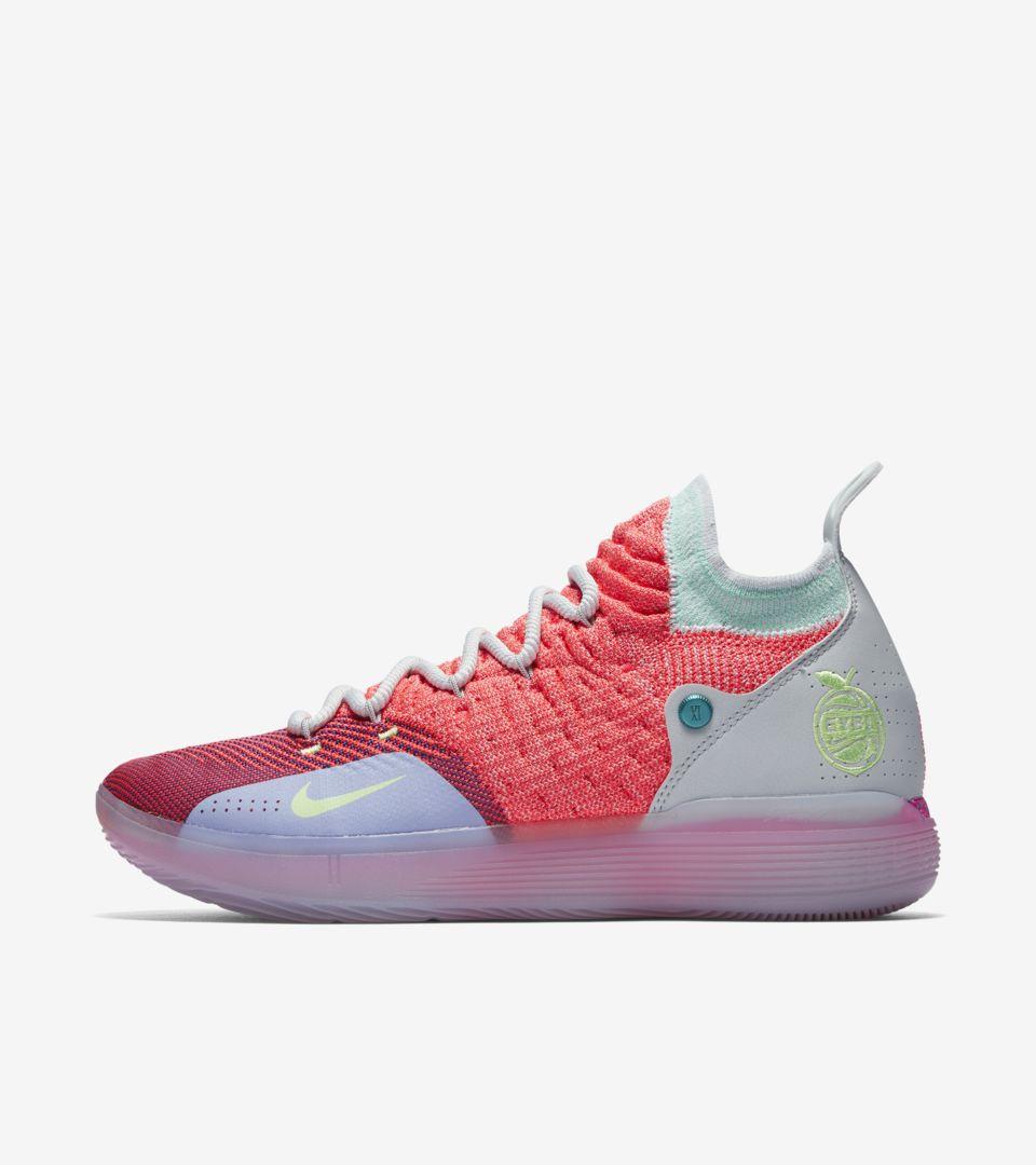 Nike Zoom KD 11 'Hot Punch' Release