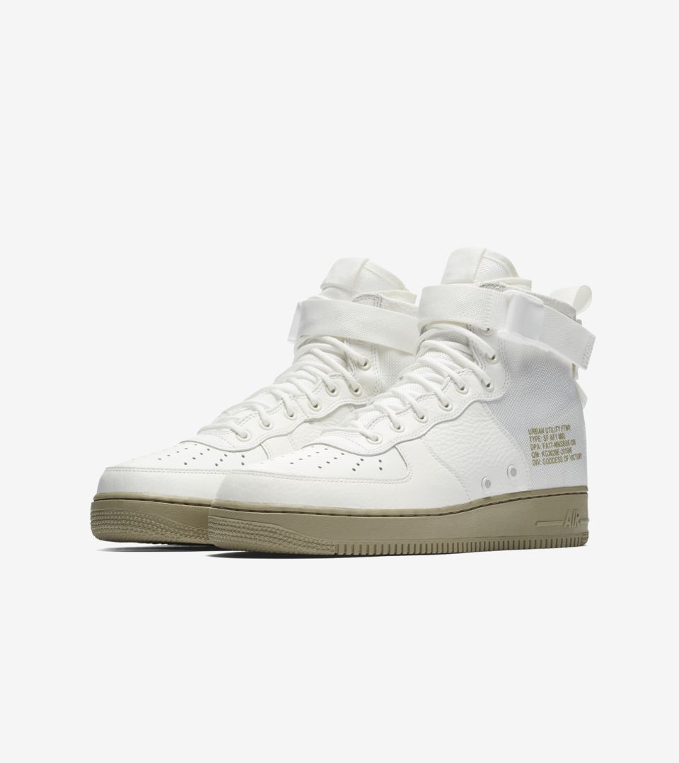 Nike SF AF 1 Mid 'Ivory & Neutral Olive' Release Date. Nike