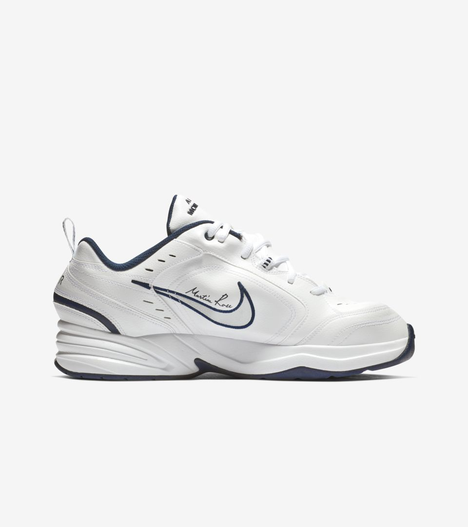 be45587136b Nike Air Monarch 4 Martine Rose  White  Release Date. Nike+ SNKRS