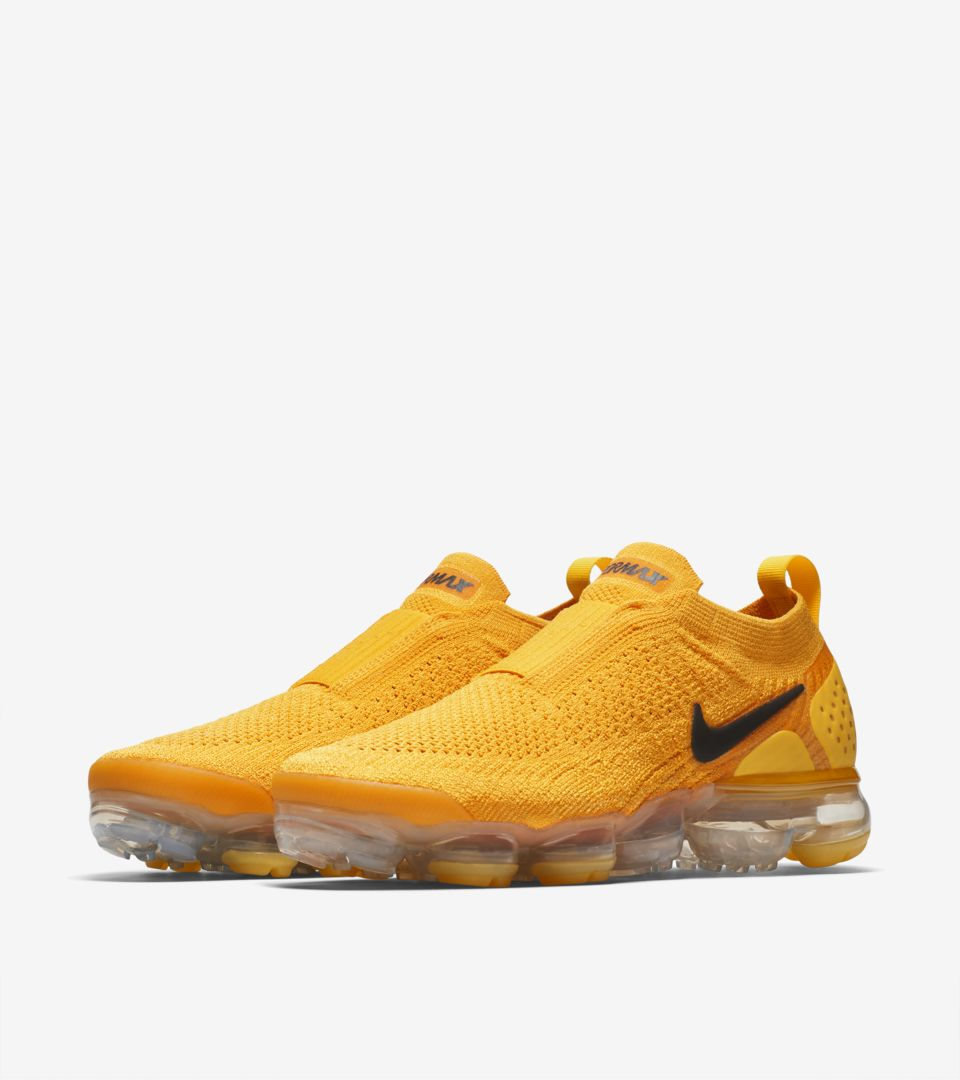 1d8a7e200922 Nike Women s Air Vapormax Moc 2  University Gold   Black  Release ...
