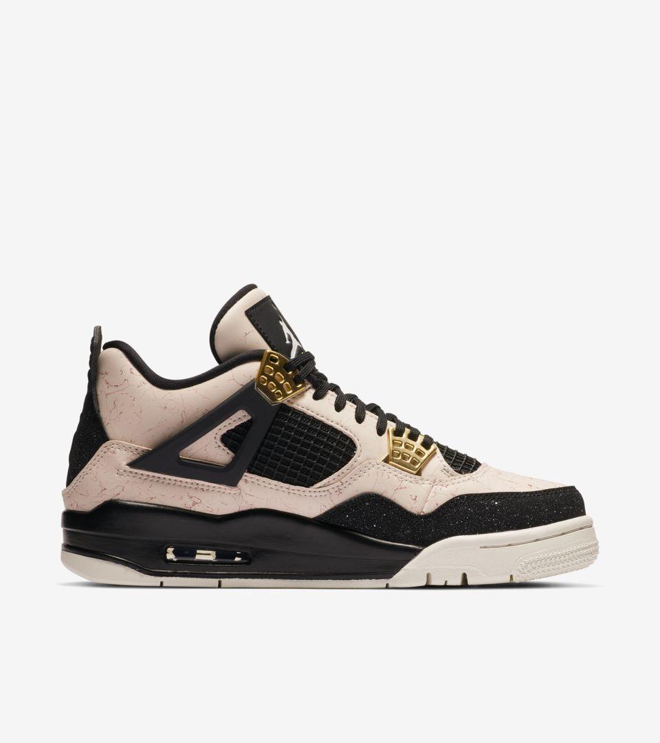e2c79cdbe48 Nike Women s Air Jordan 4 Splatter Pack  Stilstone Red  Release Date. Nike+  SNKRS