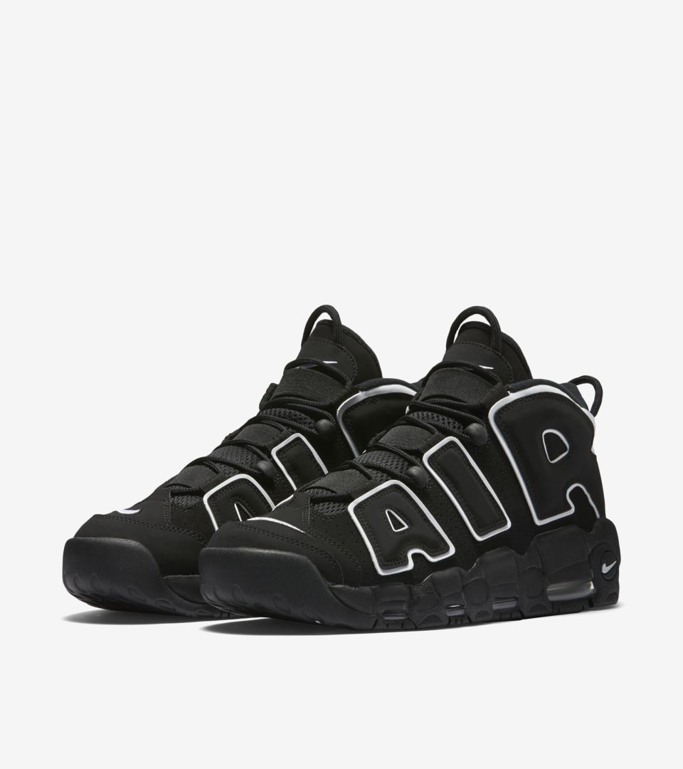 5eaec63de1afd Nike Air More Uptempo 'Black & White' Release Date. Nike+ SNKRS